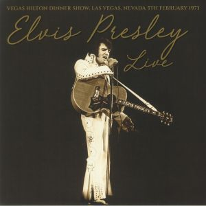 PRESLEY, Elvis - Vegas Hilton Dinner Show Las Vegas Nevada 5th February 1973