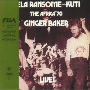 Fela Kuti - Live! With Ginger Baker (50th Anniversary Edition)