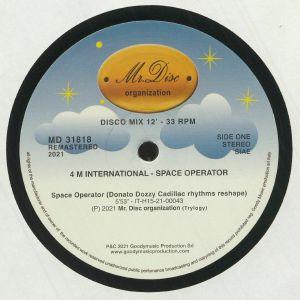 4 M INTERNATIONAL - Space Operator (reissue)