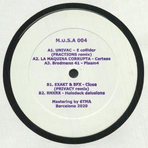 UNIVAC/LA MAQUINA CORRUPTA/BRODMANN 41/EXZAKT & BFX/RNXRX - Raval Rave Breakers Part 3