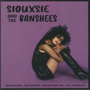 Siouxsie / The Banshees - California Hall SF 26 November 1980