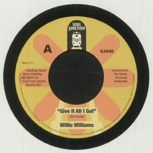 WILLIAMS, Willie - Give It All I Got