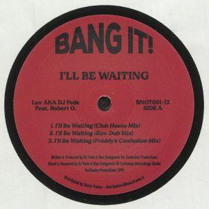 LUV aka DJ FEDE feat ROBERT O - I'll Be Waiting (reissue)