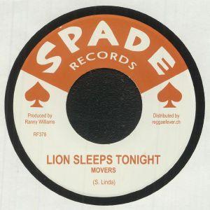 MOVERS/RANNY WILLIAMS/HIPPY BOYS - Lion Sleeps Tonight (reissue)