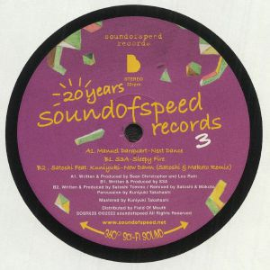 Manuel Darquart / S3a / Satoshi / Kuniyuki - 20 Years Sound Of Speed: Record 3