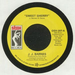 Jj Barnes / John Garry Williams - Sweet Sherry