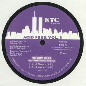 WINDY CITY feat MOOT BOOXLE - Acid Funk Vol 3