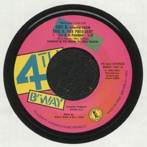 Eric B & Rakim - Eric B For President (reissue)