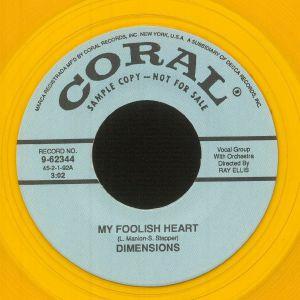 Dimensions - My Foolish Heart