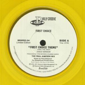 First Choice / Paul Simpson - First Choice Theme (Paul Simpson Remixes)