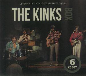 The Kinks - Box: Legendary Radio Broadcast Recordings