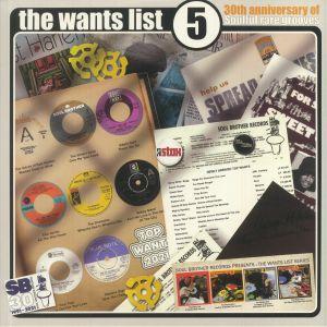 Various - The Wants List Vol 5