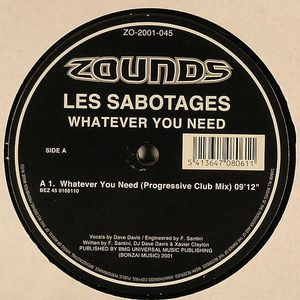 LES SABOTAGES - Whatever You Need