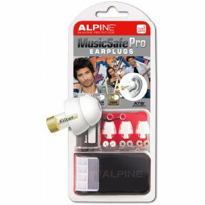Alpine Musicsafe Pro Earplugs Hearing Protection System (white)