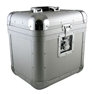 Citronic CVA50 Aluminium DJ 12 Inch Vinyl Record Box Flight Case 50