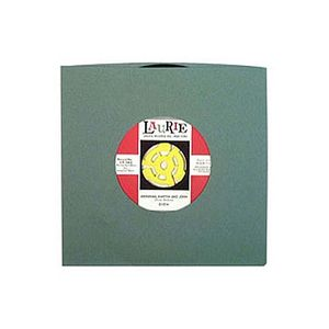 Bags Unlimited 7'' Antique Green Old Style Paper Record Sleeves (pack of 50)