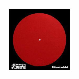 Dr Suzuki Mix Edition 12 Inch Slipmats (red, pair)