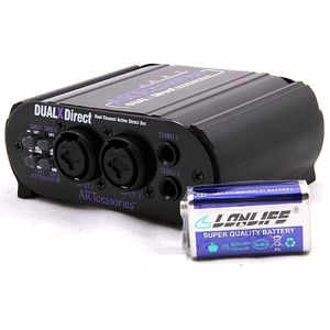ART Dual X Direct Dual Professional Active Direct DI Box