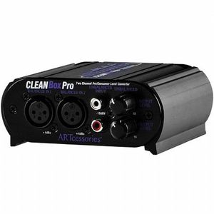 ART CleanBox Pro Dual Channel Level Converter