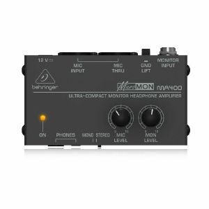 Behringer MA400 MicroMon Ultra Compact Monitor Headphone Amplifier