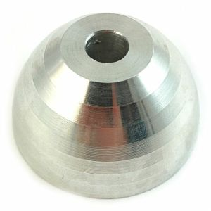 45 Central Hurricane Aluminium Spindle 45 Adapter (silver, limited edition)