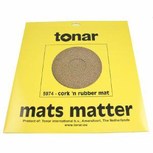 Tonar Cork & Rubber Turntable Mat (295mm diameter)