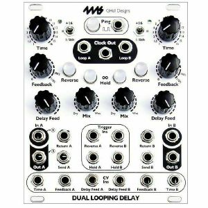 4ms Dual Looping Delay Module