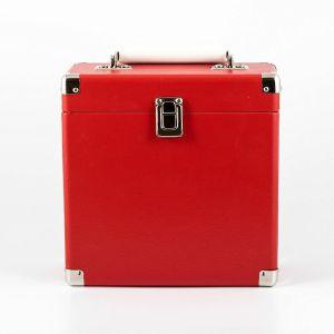 """GPO 7"""" Vinyl Record Case (red)"""