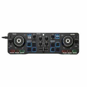 Hercules DJ Control Starlight DJ Controller With Serato DJ Lite & DJuced DJ Software