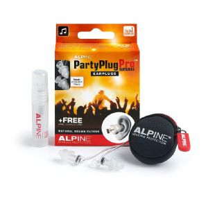 Alpine Party Plug Pro Natural Hearing Protection Earplugs