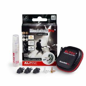Alpine Musicsafe Pro 2019 Earplugs Hearing Protection System (black)
