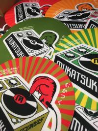 Mukatsuku Records Chart: Mukatsuku Slipmats Colours Galore !!