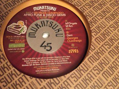 Mukatsuku Records Chart