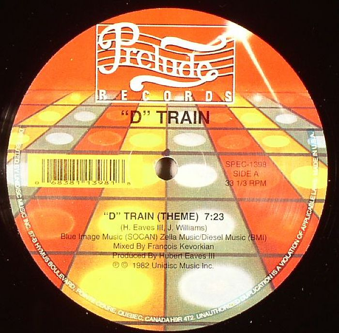 D TRAIN - D Train Theme