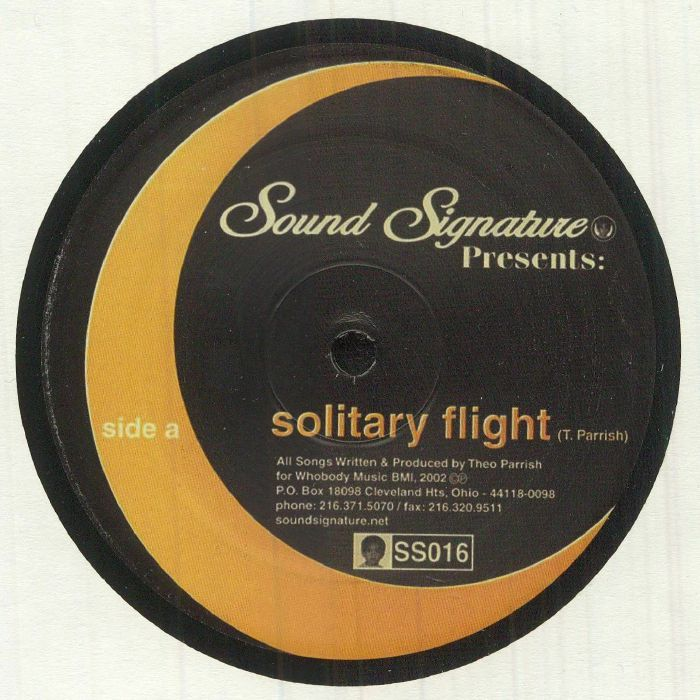 PARRISH, Theo - Solitary Flight