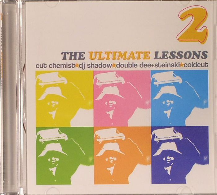 CUT CHEMIST/DJ SHADOW/DOUBLE DEE/STEINSKI/COLDCUT - The Ultimate Lessons 2
