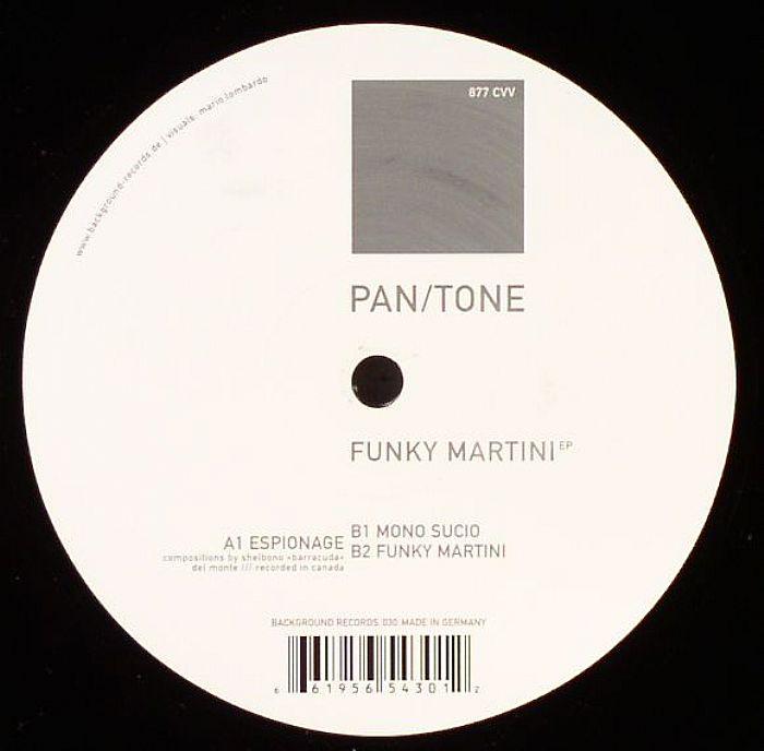 PAN/TONE - Funky Martini EP