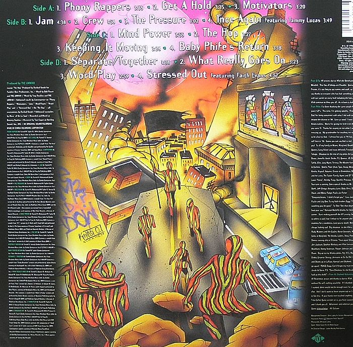 a tribe called quest beats rhymes amp life vinyl 2xlp