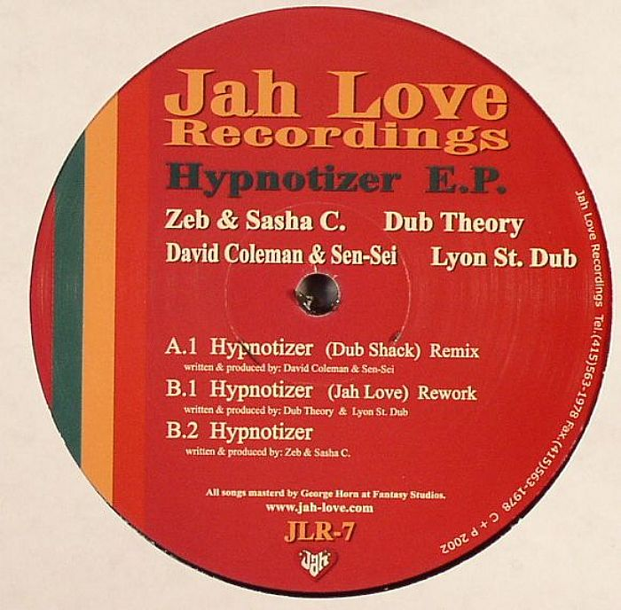 DUB THEORY/LYON ST DUB - Hypnotizer EP