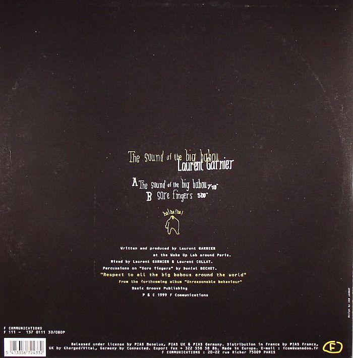 GARNIER, Laurent - The Sound Of The Big Babou