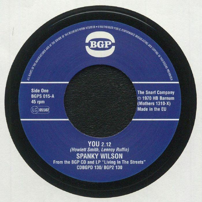 WILSON, Spanky - You