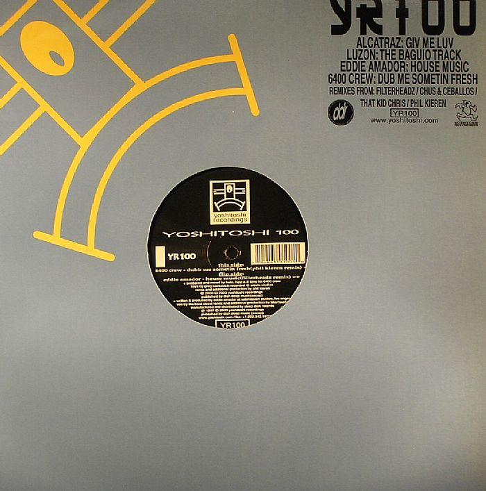6400 crew eddie amador alcatraz luzon yoshitoshi 100 vinyl for Eddie amador house music