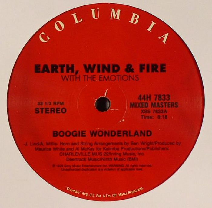 EARTH WIND & FIRE feat THE EMOTIONS - Boogie Wonderland