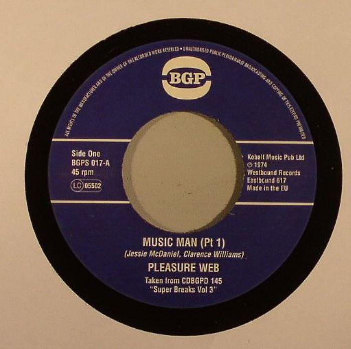 PLEASURE WEB - Music Man