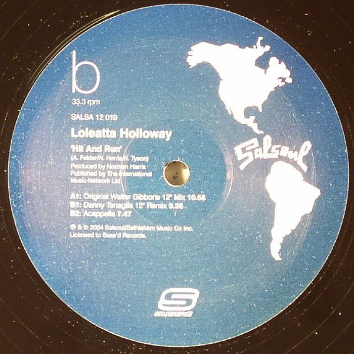 HOLLOWAY, Loleatta - Hit & Run