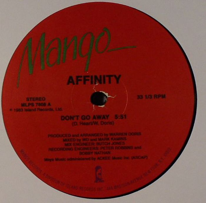 AFFINITY - Don't Go Away