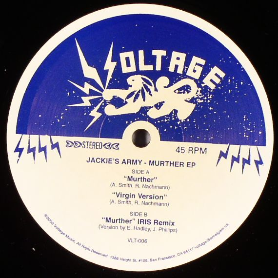 Jackie's Army - Murther Remixes