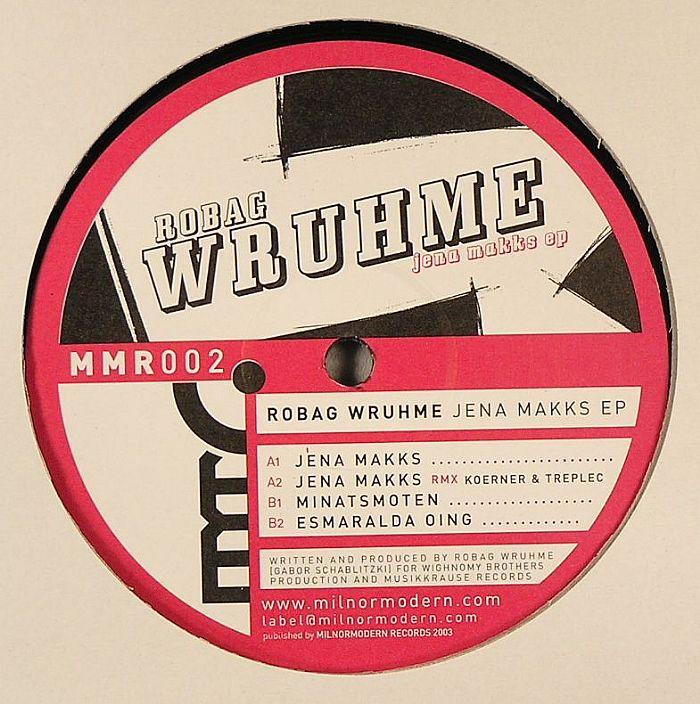 WRUHME, Robag - Jena Makks EP
