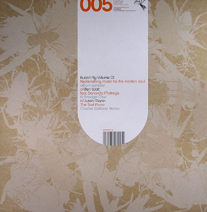 WATT, Ben feat SANANDA MAITREYA/JUSTIN MARTIN - Buzzin' Fly Volume 01 (Sampler)
