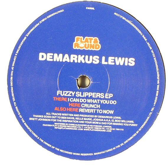 LEWIS, Demarkus - Fuzzy Slippers EP